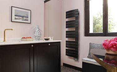 Allure étroit noir carbone - Radiateur sèche-serviettes - Thermor