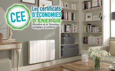 """Bilbao 3 """"Coup de pouce chauffage EDF"""" - Radiateur électrique connecté - Thermor"""