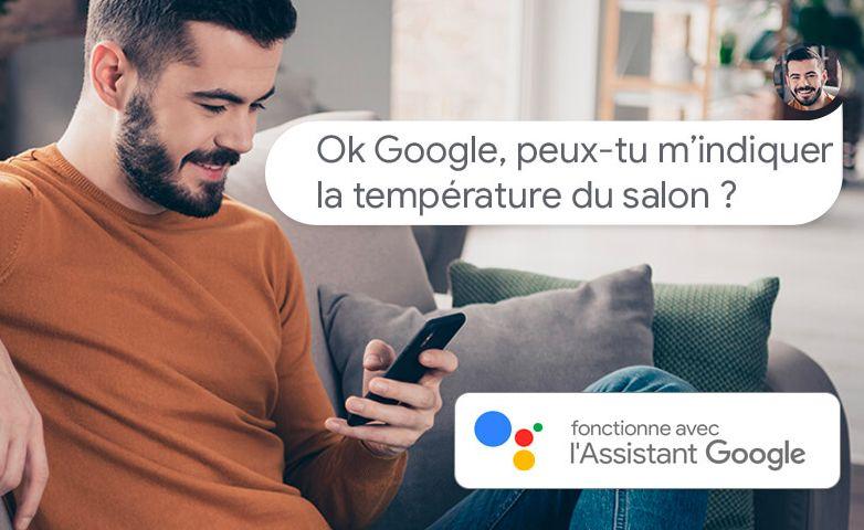 Piloter ses radiateurs chaleur douce avec l'assistant Google - Thermor