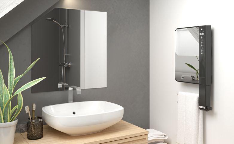 Illico 3 miroir - Sèche-serviettes soufflant - Thermor