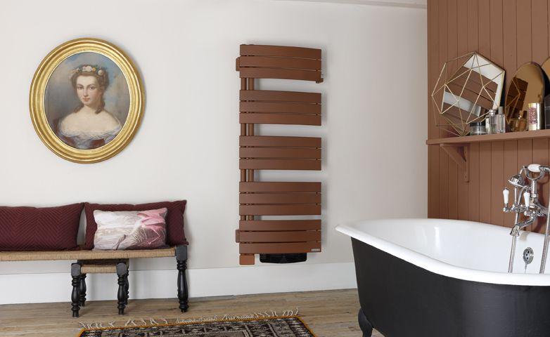 Allure brun terracotta - Radiateur sèche-serviettes électrique - Thermor