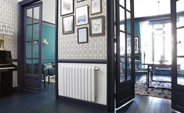 Mythik horizontal blanc - Radiateur électrique design connecté - Thermor