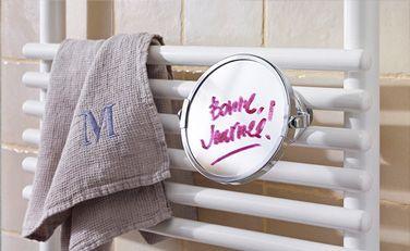 Miroir sèche-serviettes - Accessoire de personnalisation - thermor