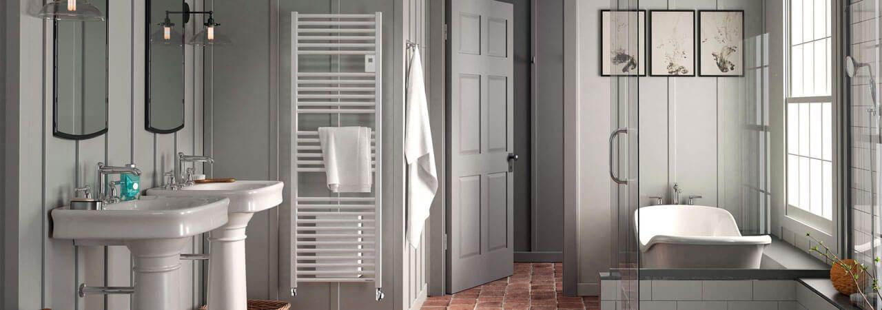 Sèche-serviettes mixte