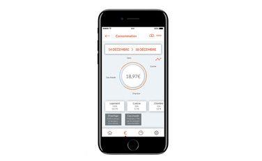 Application Cozytouch -  suivi de consommation - Thermor