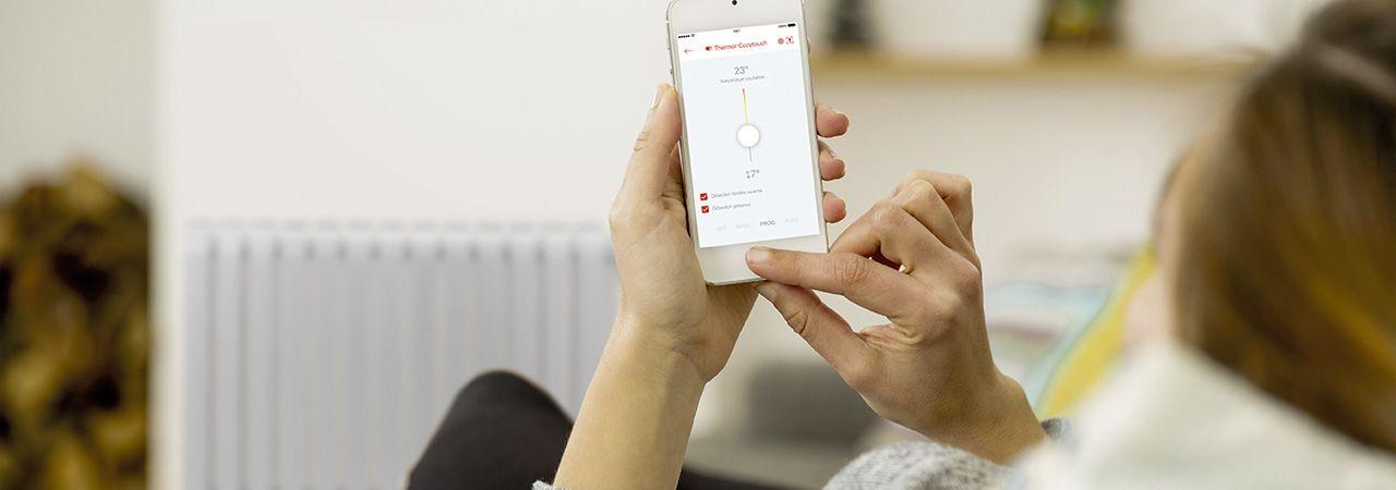 Connectez vos radiateurs grâce à l'application Cozytouch !